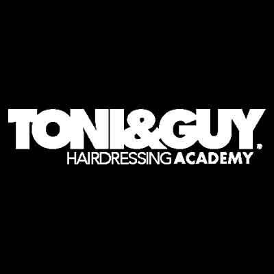 Toni & Guy logo.