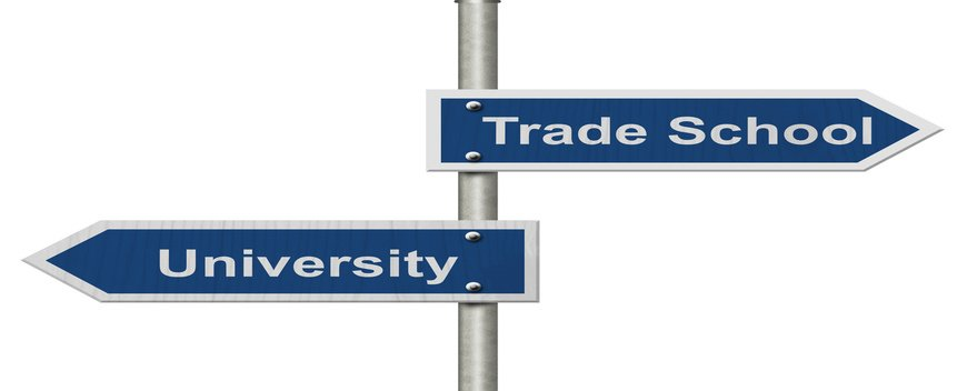 Trade schools, trade schools vs traditional college, why trade school over traditional college, trade programs