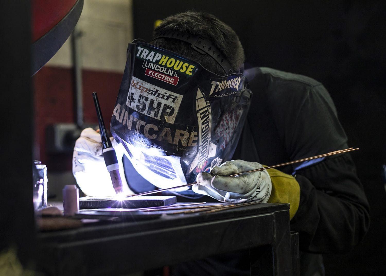 welding alumni Rocco Malarbi
